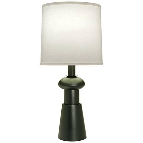 Carson Converse Black Verdigris Table Lamp w/ Aberdeen Shade