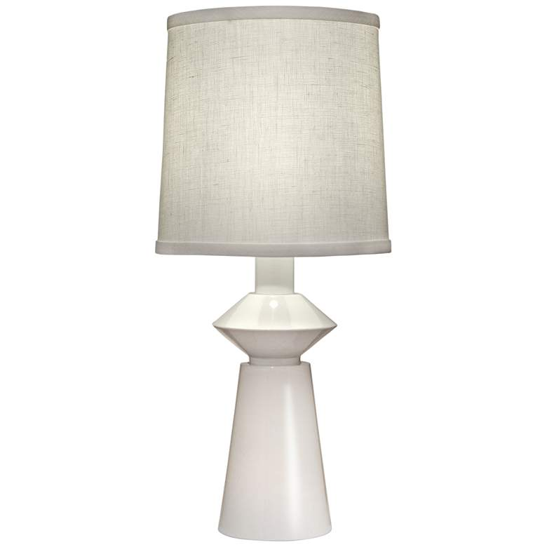 Carson Converse White Accent Table Lamp w/ Aberdeen