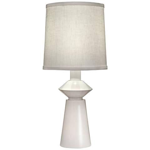Carson Converse White Accent Table Lamp w/ Aberdeen Shade