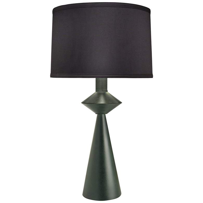 Carson Converse Black Verdigris Table Lamp w/ Black