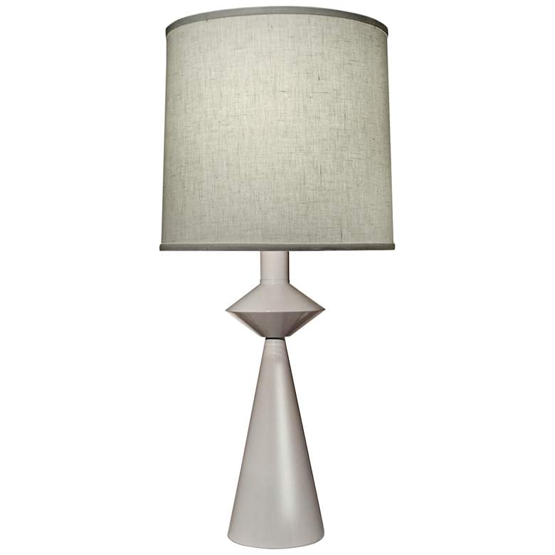 Carson Converse White Cone Table Lamp w/ Aberdeen