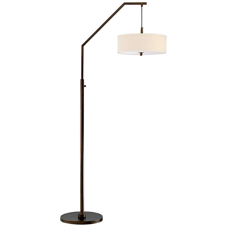 Possini Euro Kellan Oil Rubbed Bronze Arc Floor Lamp