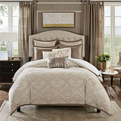Glamorous Natural Comforter Set