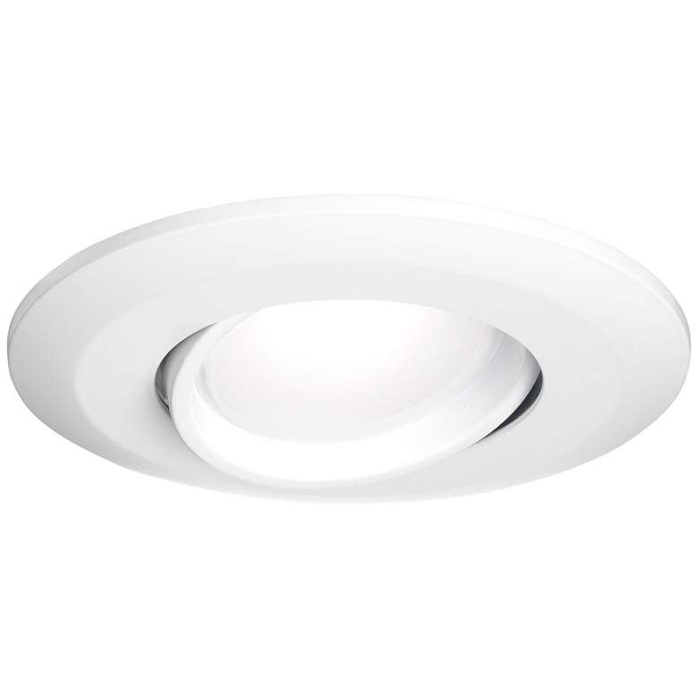 "4"" White Gimbal Retrofit 10W LED Eyeball Downlight"