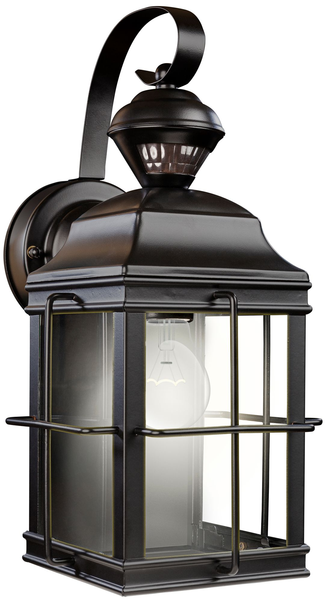 Image Of Motion Sensor Outdoor Light Not Working Hampton Bay Heathco Wire In Control Reviews Wayfair Fixtures Lamps Plus