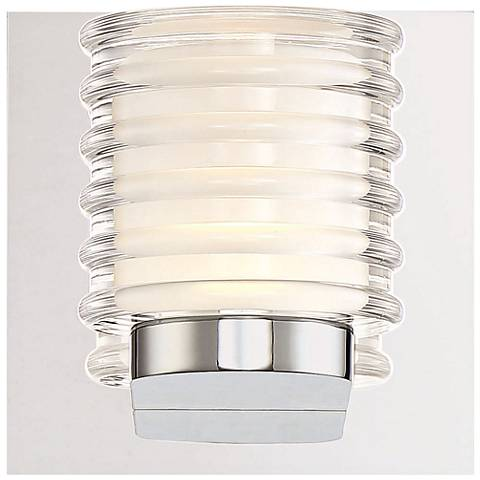 "Eurofase Ancona 5 1/4"" High Chrome LED Wall Sconce"