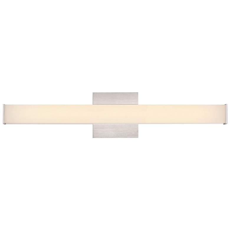 "Eurofase Kelvin 24"" Wide Aluminum LED Bath Light"
