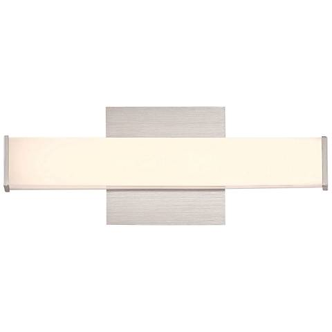 "Eurofase Kelvin 13"" Wide Aluminum LED Bath Light"