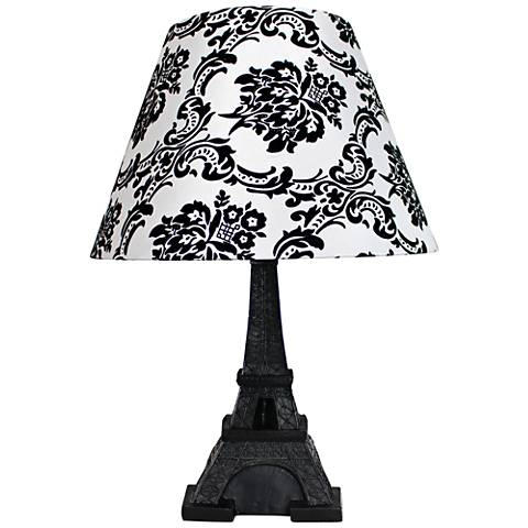 Eiffel tower paris black 16 high accent table lamp 35w24 lamps eiffel tower paris black 16 high accent table lamp aloadofball Choice Image