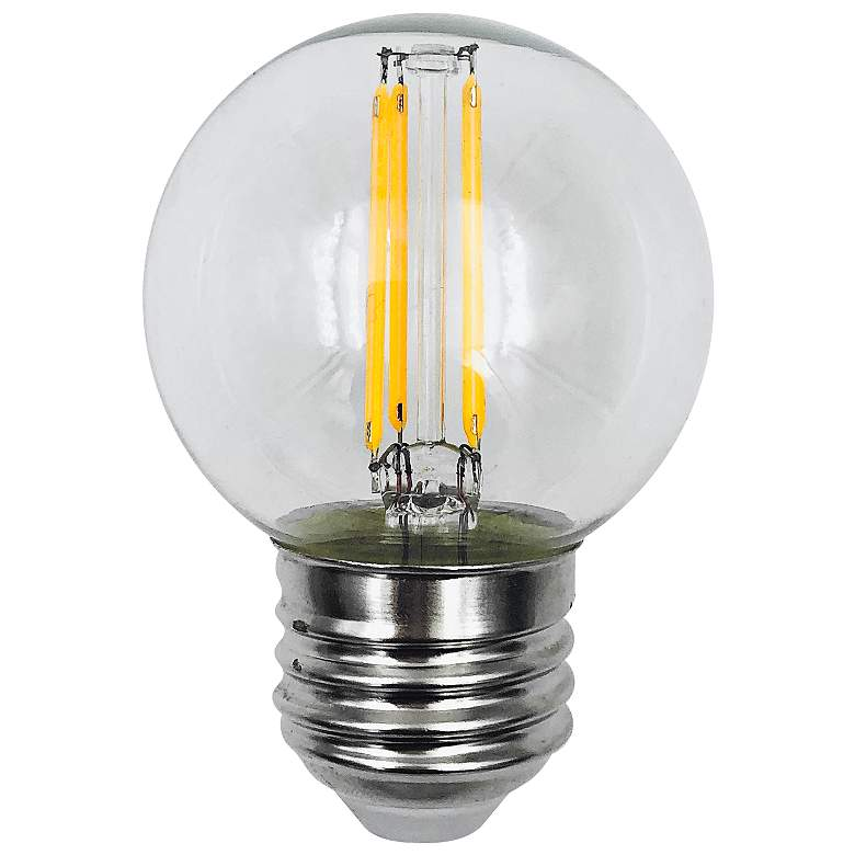 60W Equivalent Clear 6W LED Dimmable Standard G16 Filament