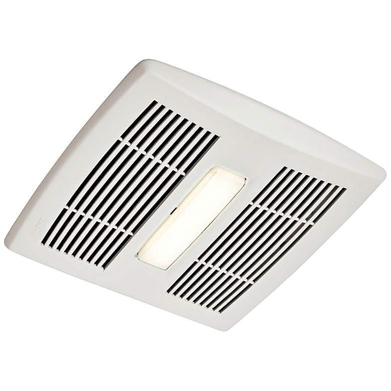 Broan InVent LED White 80 CFM 1.5 Sones Lighted Bath Fan