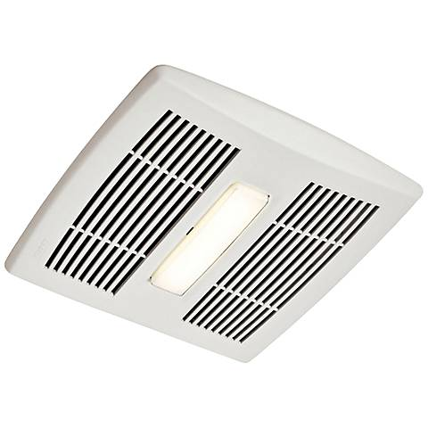 Broan InVent LED White 80 CFM 1.5 Sones Lighted Bath Fan
