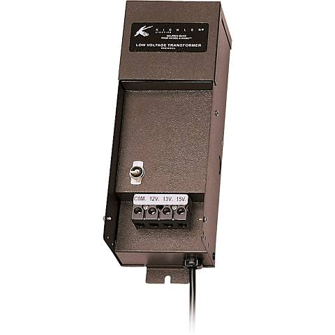 Kichler Manual Series 200-Watt Bronze Transformer