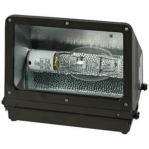 "175 Watt 14 1/4"" Wide Metal Halide Wall Pack Light"