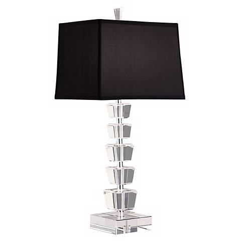 Robert Abbey Minerva Black Table Lamp