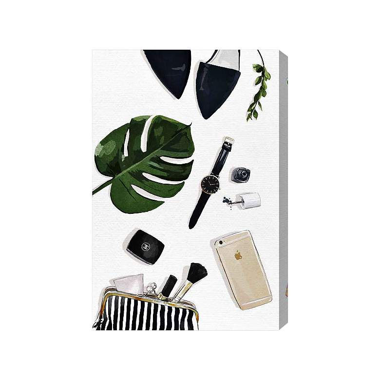 Oliver Gal Tropical Goodies Canvas Wall Art