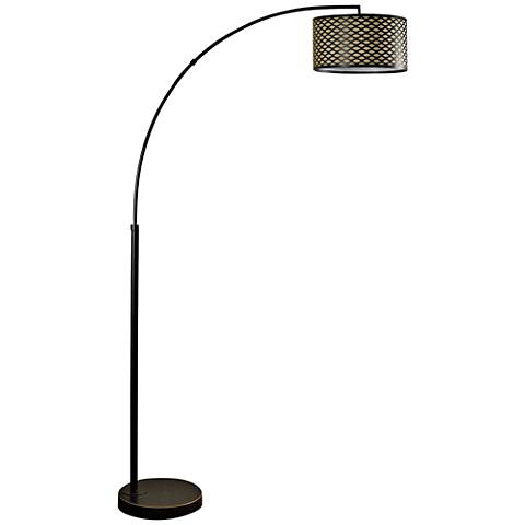 Madison Bronze Arch Floor Lamp