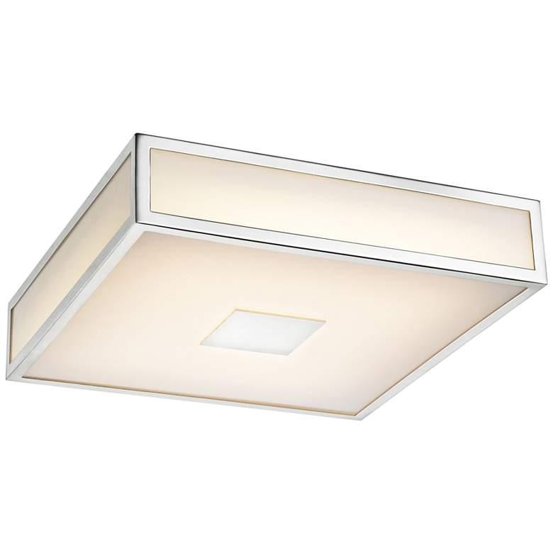 "Hampstead 9"" Wide Chrome LED Ceiling Light"