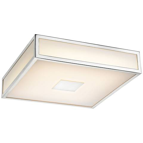 "Hampstead 9"" Wide Chrome LED Ceiling Light"