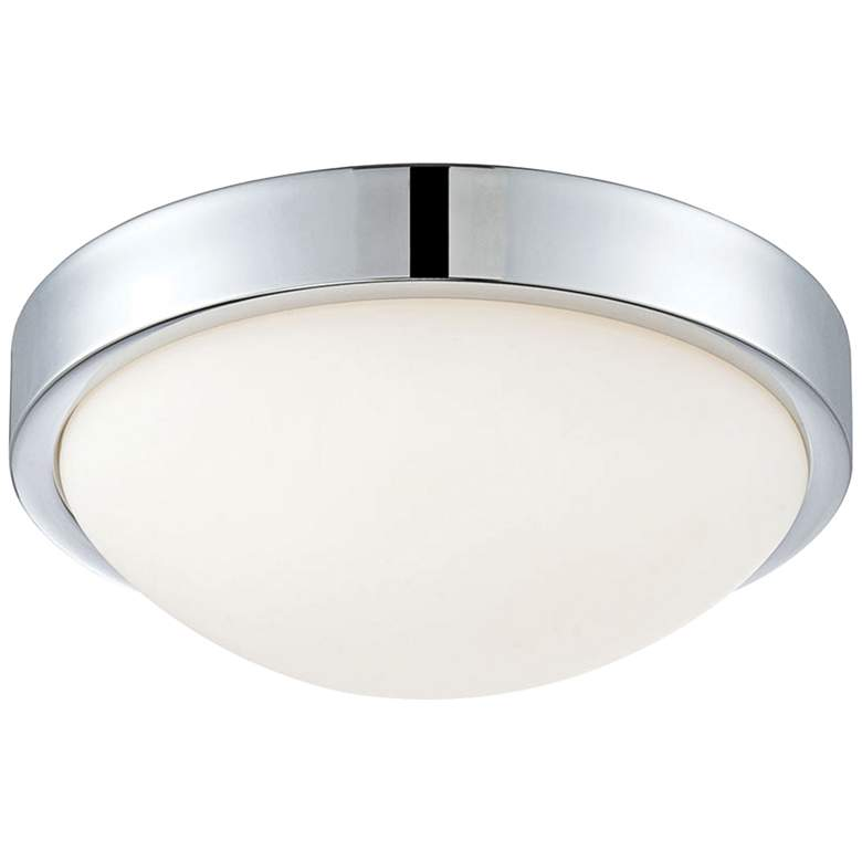 "Sydney 10 1/4"" Wide Chrome LED Ceiling Light"
