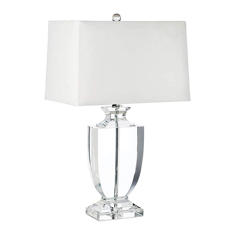 Regina Andrew Carr Phat Crystal Urn Table Lamp