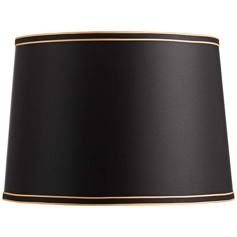 Black Shade with Black and Gold Trim 14x16x11 (Spider)
