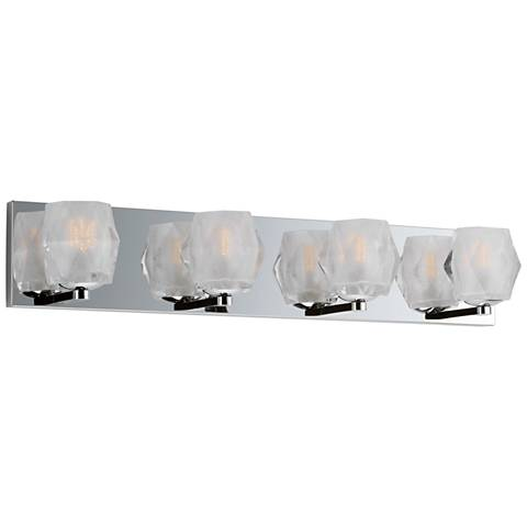 "Maxim Peak 26"" Wide Polished Chrome 4-LED Bath Light"
