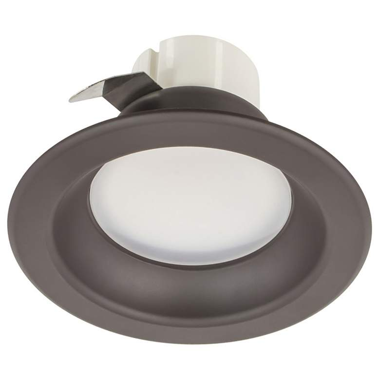 """50W Replacement 3"""" Dark Bronze 8W LED Remodel"""