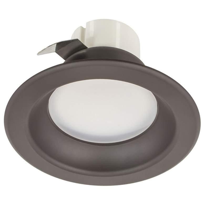 "50W Replacement 3"" Dark Bronze 8W LED Remodel Recessed Trim"