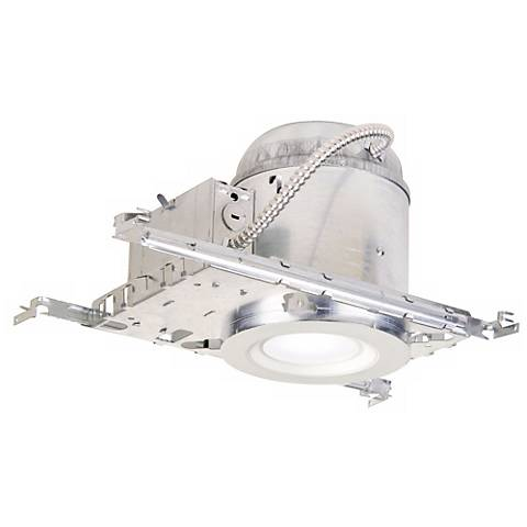 "6"" Luminaire IC NC LED Smooth Trim Recessed Light Kit"