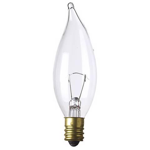 Bent-Tip 15 Watt 12 Volt Candelabra Light Bulb