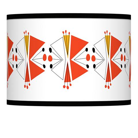 Lexiconic III Giclee Lamp Shade 13.5x13.5x10 (Spider)