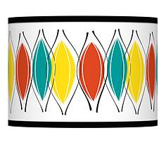 Multi color ragnar lamp shades lamps plus harmonium giclee lamp shade 135x135x10 spider mozeypictures Gallery