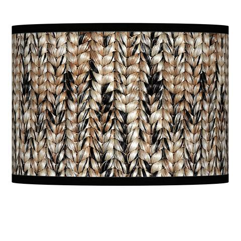 Braided jute giclee lamp shade 135x135x10 spider 37869 24v21 braided jute giclee lamp shade 135x135x10 spider aloadofball Gallery