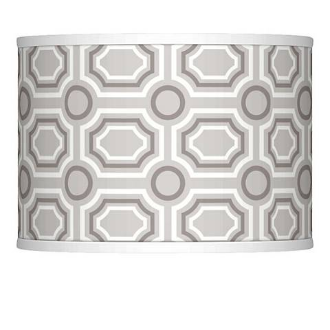 Luxe Tile Giclee Lamp Shade 13.5x13.5x10 (Spider)