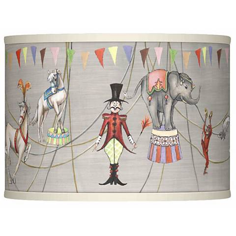 Circus time giclee lamp shade 135x135x10 spider 37869 3f075 circus time giclee lamp shade 135x135x10 spider aloadofball Choice Image