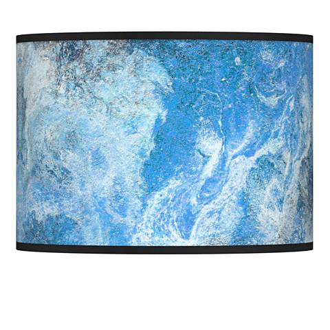 Ultrablue Giclee Lamp Shade 13.5x13.5x10 (Spider)