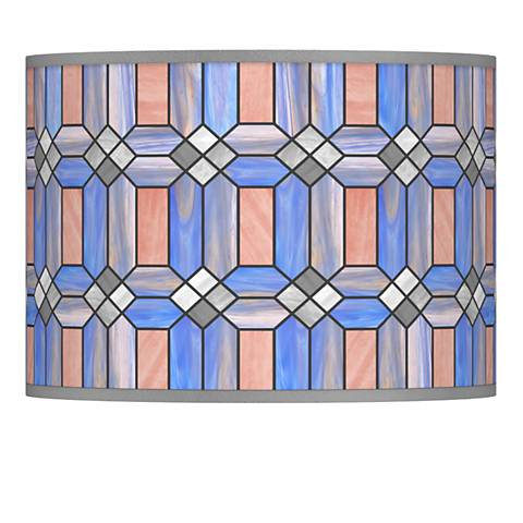 Asscher Tiffany-Style Lamp Shade 13.5x13.5x10 (Spider)