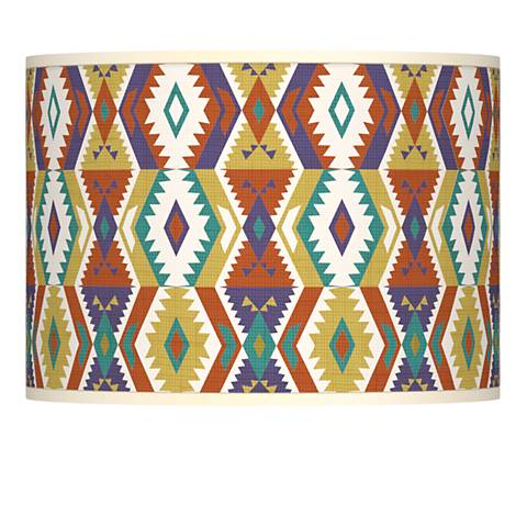 Southwest Bohemian Giclee Lamp Shade 13.5x13.5x10 (Spider)