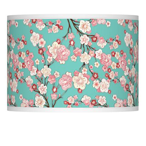 Cherry blossoms giclee lamp shade 135x135x10 spider 37869 cherry blossoms giclee lamp shade 135x135x10 spider aloadofball Gallery