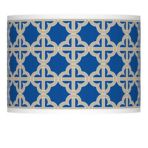Four Corners Giclee Lamp Shade 13.5x13.5x10 (Spider)