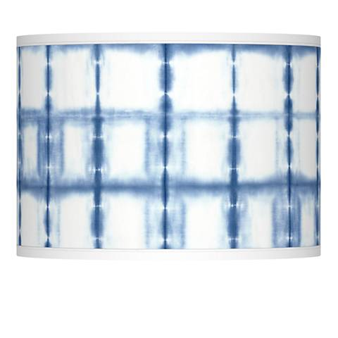 Blue Mist Giclee Lamp Shade 13.5x13.5x10 (Spider)