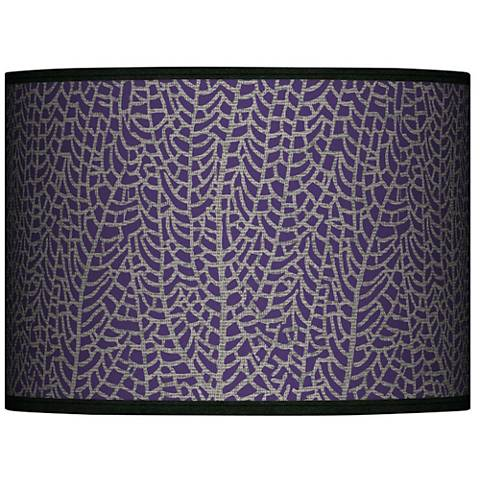 Stacy Garcia Seafan Rich Plum Lamp Shade 13.5x13.5x10 (Spider)