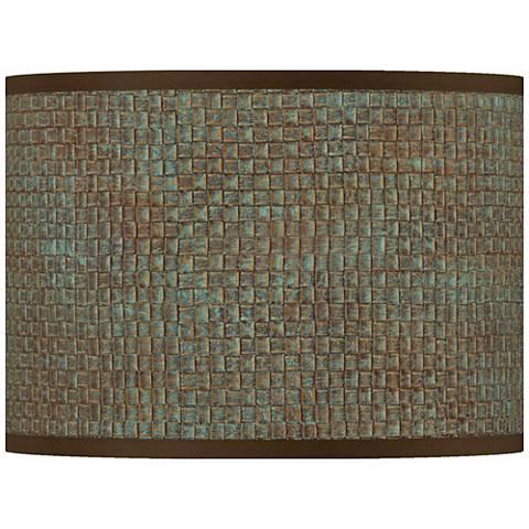 Interweave Patina Giclee Lamp Shade 13.5x13.5x10 (Spider)