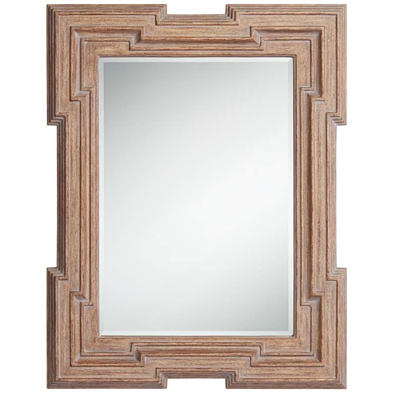 "Jackson Wood 35 3/4"" x 46"" Rectangular Wall Mirror"
