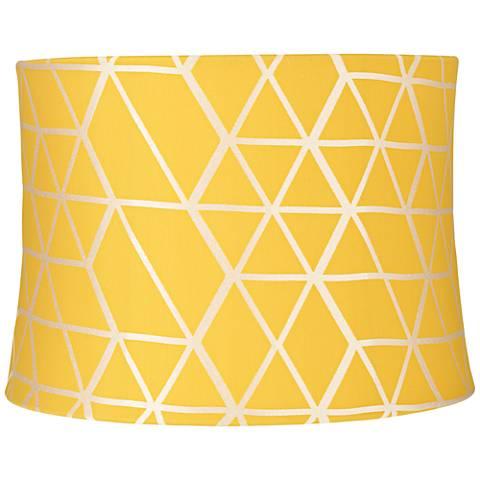 Varadero Yellow Round Lamp Shade 13x14x10 (Spider)
