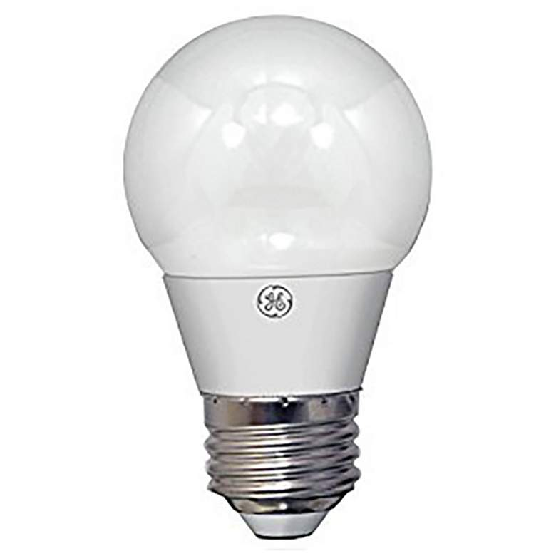 60W Equivalent GE Frosted 5 Watt LED Dimmable Standard Bulb