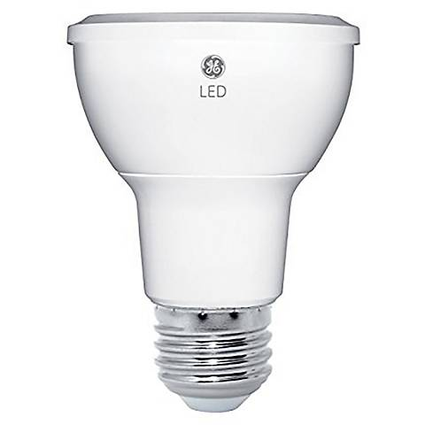 40W Equivalent GE Frosted 4.5W LED Dimmable Standard PAR16