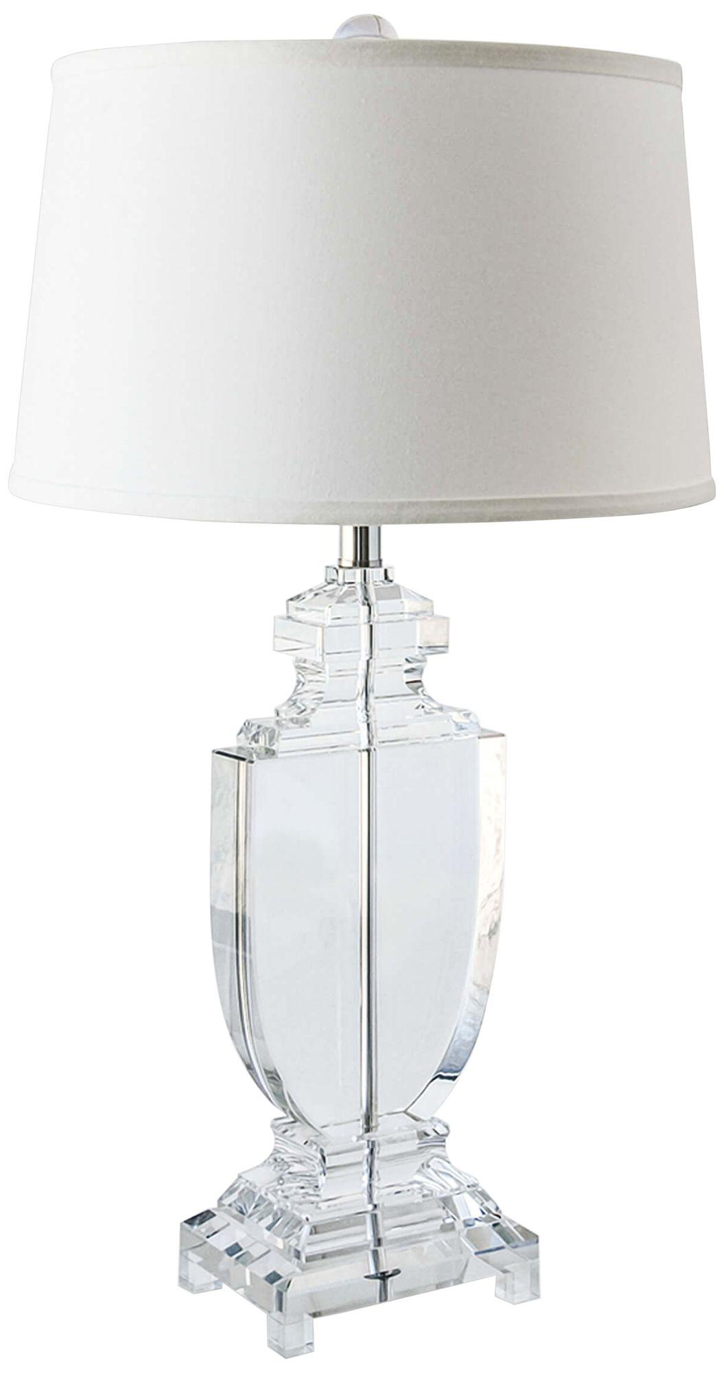 Regina Andrew Carr Crystal Flat Urn Table L&  sc 1 st  L&s Plus & Regina Andrew Carr Crystal Flat Urn Table Lamp - #37C74   Lamps Plus