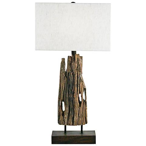 Regina Andrew Mack Reclaimed Wood Table Lamp